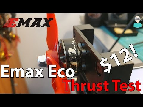 Emax Eco 2306 Thrust Test (1700/2400KV)