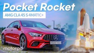[모터피디] AMG의 포켓 로켓! 더 뉴 메르세데스 AMG CLA 45 S 4MATIC+ 리뷰! (자동차/리뷰/시승기)