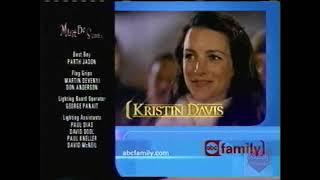ABC Family Promo Over Must Be Santa Credits   2001