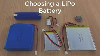 Choosing Your Next LiPo Battery (Lithium-ion Polymer Battery)