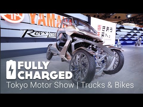 Tokyo Motor Show - Trucks and Bikes | Fully Charged