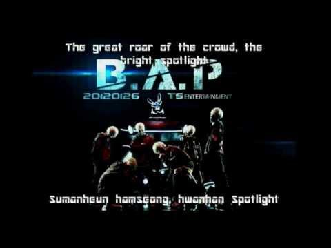 B.A.P - Unbreakable Lyrics (Romanization + English subs)