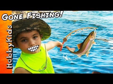HobbyKids Go Fishing and Catch Real Fish!