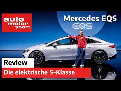 Mercedes EQS: Über 700 km Reichweite in der Elektro S-Klasse - Review   auto motor und sport