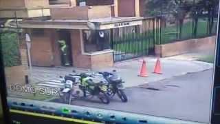 preview picture of video 'Balacera en el norte de Bogotá'