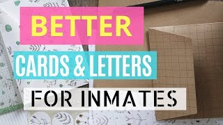 Prison Wife Shares Ideas - Cards For Inmates