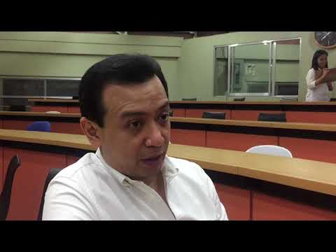 Trillanes on teaching public policy