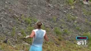 Emelie Forsberg breaks CR - Mt. Marathon 2015.