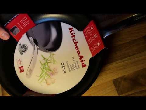 KitchenAid Bratpfanne, Ø 28 cm unboxing und Anleitung