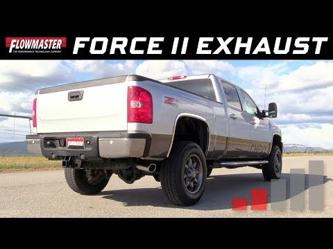 2011-19 GM Silverado/Sierra 2500/3500HD 6.0L - Force II Cat-back Exhaust System 817451