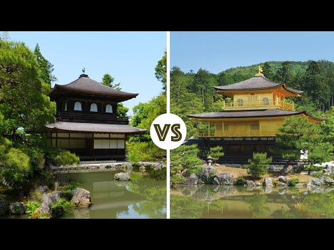 Kyoto's Golden Kinkakuji vs Silver Ginkakuji ★ ONLY in JAPAN