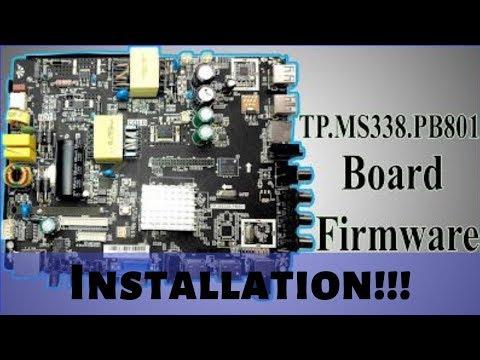 TP MS338 PB801 Android UHD Board Installation - смотреть онлайн на