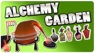 Grow n' Run Your Own Alchemy Shop! | Alchemy Garden Gameplay (Free Game)