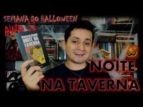 Noite na Taverna - Álvares de Azevedo | #SEMANA DO HALLOWEEN