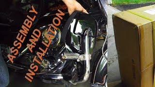 Assembling  Budget Fairing Lowers for Harley Davidson ✔