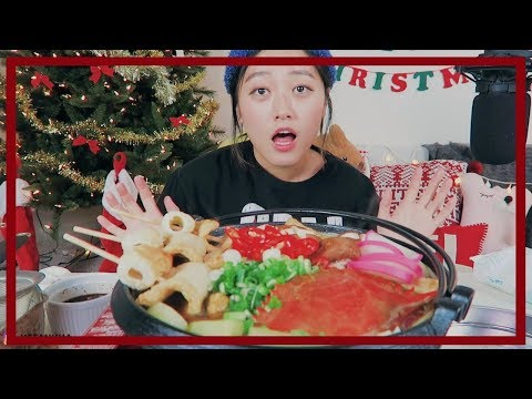 Fish Series #2 | Odeng(fishcakes) Casserole Recipe Mukbang!