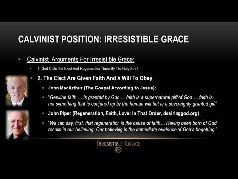 The 5 Points of Calvinism - Part 4 - Irresistible Grace by Timothy Fleming by Timothy Fleming