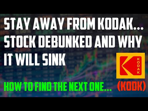 Short Kodak? | How to find the next share which will explode… Detailed KODK stock & loan analysis