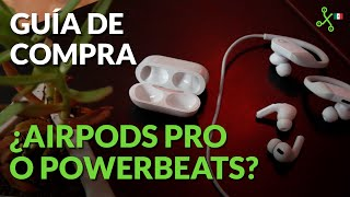 Airpods Pro o Powerbeats, GUÍA DE COMPRA: ¿cancelación de ruido o diseño para deportistas?