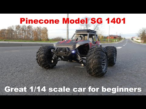 Pinecone Model SG 1401 - Great 1/14 scale car for beginners