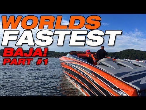 Worlds Fastest Baja boat PART 1: First shake down run!
