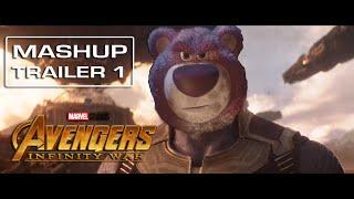 Toy Story 3 | Avengers Infinity War - [Mashup] Trailer 1