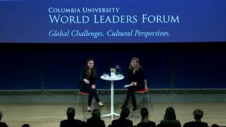 Ms. Sanna Marin, Prime Minister of the Republic of Finland, World Leaders Forum, Columbia University