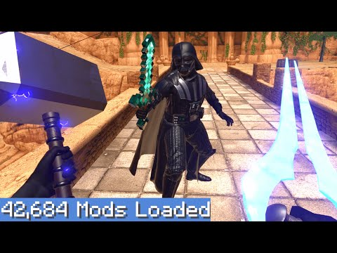 Blade and Sorcery VR but I downloaded every single mod 3