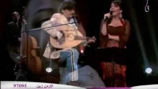 عبود خواجه + فدوى المالكي _ مدري سبقني الشوق.wmv