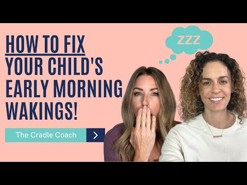 How to FIX Your Child's Early Morning Wakings!!! - YouTube