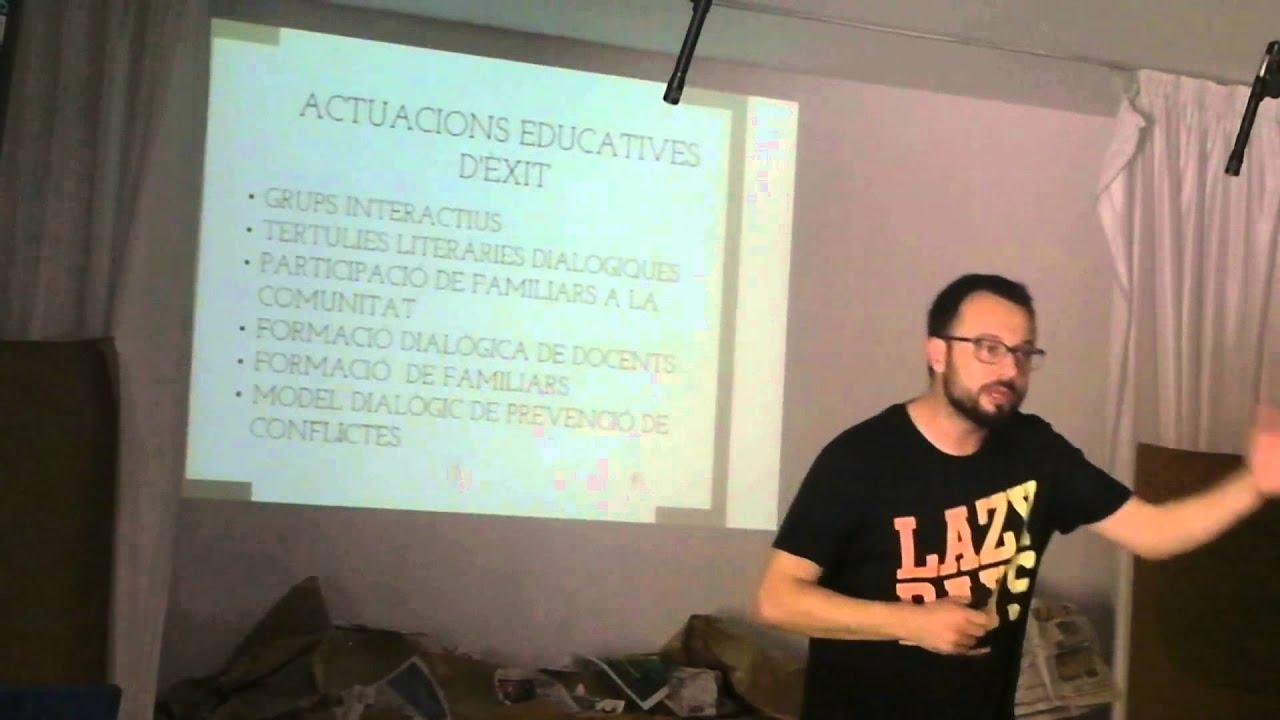 Xerrada: Comunitats d'Aprenentatge. Educació Inclusiva. Josep Maria Canal