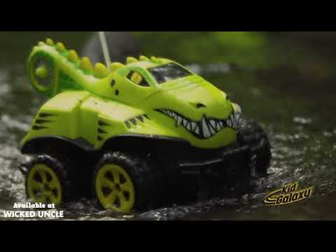 Youtube Video for Amphibious Remote Control Crocodile Car