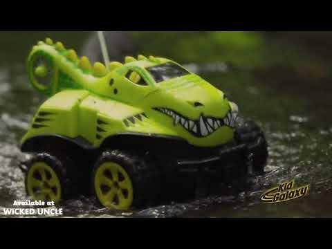 Youtube Video for Amphibious Remote Control Crocodile Car