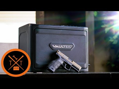 GUN SAFE REVIEW // Mini Fridge For Your Gat!?