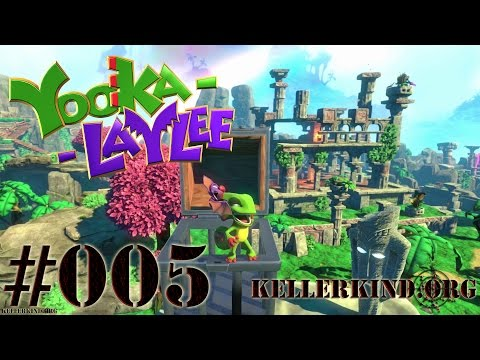 YOOKA-LAYLEE #5 – Suche nach den Ghostwritern ★ Speedy plays Yooka-Laylee [HD|60FPS]