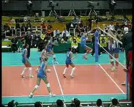 immagine di anteprima del video: Ricezione - attacco nazionale femminile italiana