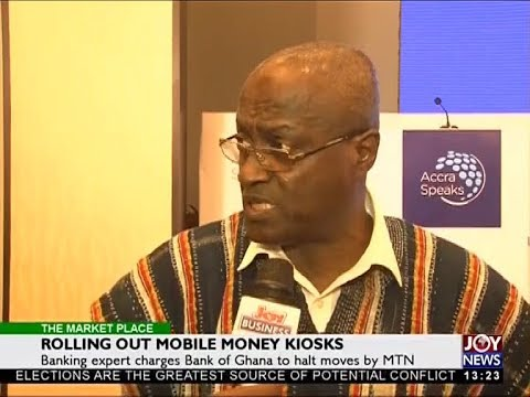 Rolling Out Mobile Money Kiosks - The Market Place on Joy News (30-4-18)