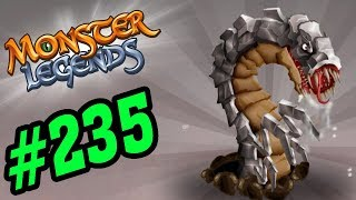 ✔️GIUN KIM LOẠI KHỔNG LỒ !! - Monster Legends Game Mobiles - Android, Ios #235