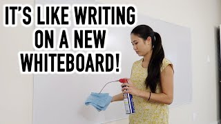 Don't Throw Out Your Whiteboard Until You Watch This! | How To Renew Your Dry Erase Board + Update