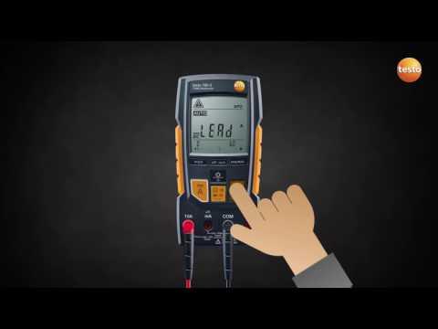 Multimètre numérique avec identification automatique des grandeurs de mesure