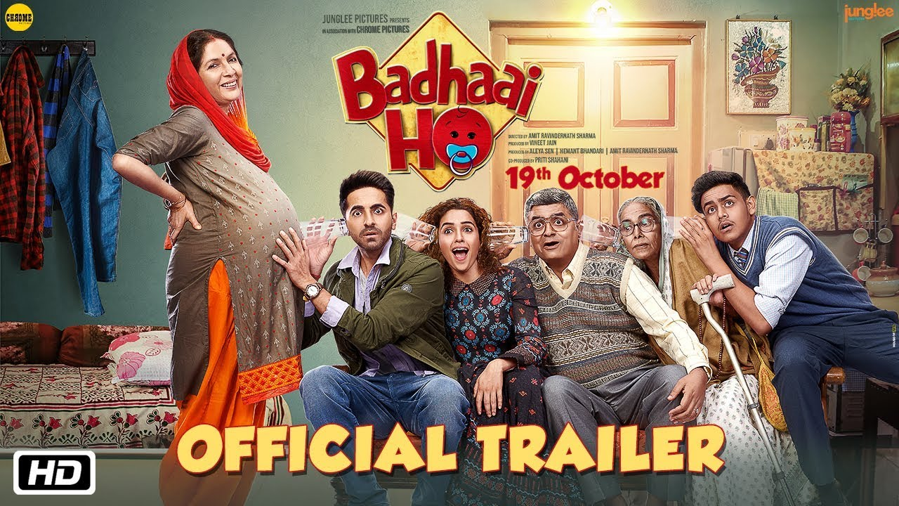 Badhaai Ho Trailer Has Been Released | Movie Releases on 19th October 2018