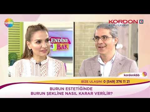 Can Ercan - Burun Estetiğinde Şekil - Show Tv Kendine İyi Bak