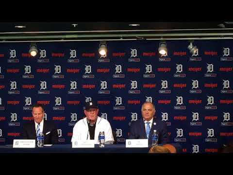 Ron Gardenhire addresses media after being named Detroit Tigers Manager