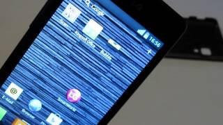 LG E460 Optimus L5 II - Antenne funktioniert nur OHNE Boden!!!