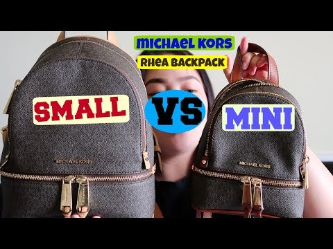 Michael Kors Rhea Back pack ❤️ | Review | What's in My bag | KrishaVy❤️