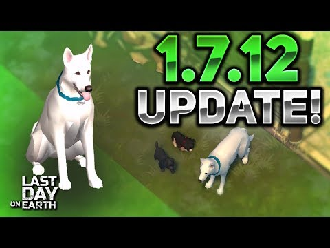 PUPPYS & DOG UPDATE! 1.7.12 UPDATE REVIEW! - Last Day On Earth: Survival