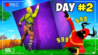 Last To Leave KEVIN THE CUBE Wins $10,000 - Fortnite