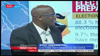 News Centre: Jesuit Hakimani poll: Moral apathy to influence poll - 06/03/2017
