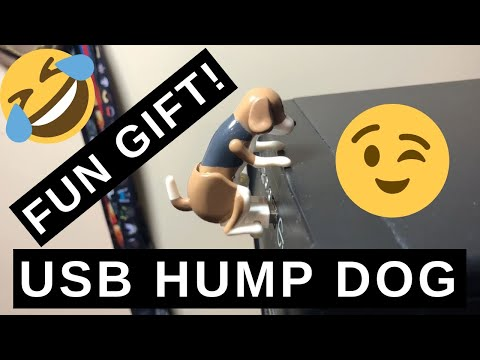 USB Humping Dog Review – Great Fun Gift Idea! | WTF Review Time