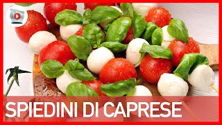 Spiedini di Caprese [3 Step]